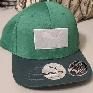 Puma Golf Men's Utility Patch Snapback Hat